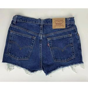 Levis Vintage Cutoff Jean Shorts Made in USA